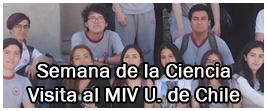 Visita al MIV de la Universidad de Chile